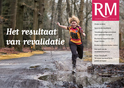 Cover Revalidatie Magazine (RM) jaaruitgave 2016